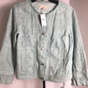 LOFTTextured Jacket Size S (NWT)